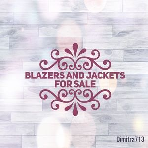🏵 Blazers and Jackets for Sale 🏵